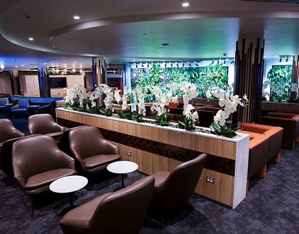 Access To An  Airline Vip Lounge
